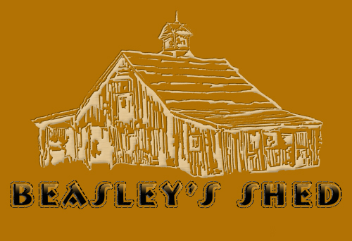 Click Here to See What's In Beasley's Shed...